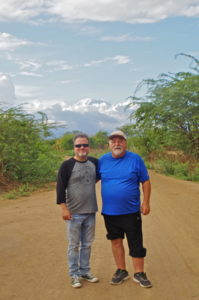 Pastor Chris and Dick Hochreiter
